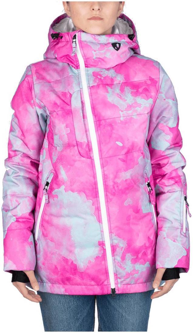Куртка пуховая Pitch WКуртки<br><br><br>Цвет: Розовый<br>Размер: 50