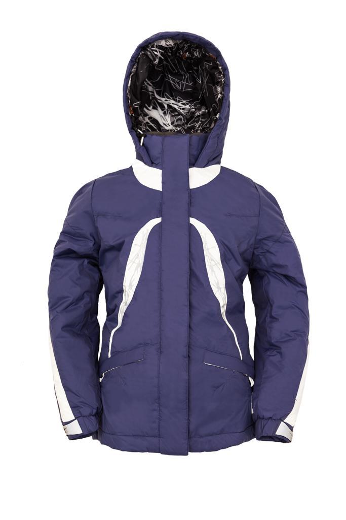 Куртка утеплённая Plumelet II детскаяКуртки<br><br> Утепленная куртка для девочек от 8 лет, предназначена для ношения в холодное время года. Куртка надежно защищает от дождя, ветра и холода благодаря материалу и регулируемым застёжкам. А вышивка, яркие цвета и современный дизайн подарят радостное на...<br><br>Цвет: Синий<br>Размер: 152