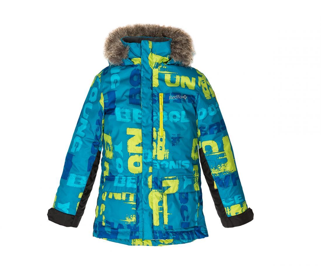 Куртка утепленная Spy Fox II ДетскаяКуртки<br>Стильная и комфортная зимняя куртка для подростков c опушкой из искусственного меха на капюшоне и регулировками по объему и глубине.<br> Два боковых кармана на молнии, внутренний карман и карман на рукаве, регулируемые манжеты на рукавах, затяжка по низ...<br><br>Цвет: Синий<br>Размер: 152