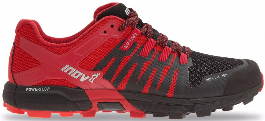 Inov-8 Кроссовки Roclite 305 муж. (8.5, Black/Red/Red, , ,) inov 8 брюки at c tight w l black
