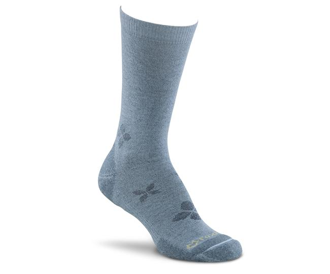 Носки турист. жен. 2563 Spree Lt Quarter CrewНоски<br>Нужен носок, который выдержит любые испытания? Вы нашли то, что искали! Мы создали эту модель специально для женщин, с учетом особенностей строения женской стопы. Благодаря системе управления влагой wick dry® Ваши ноги останутся в сухости.<br><br>...<br><br>Цвет: Голубой<br>Размер: M