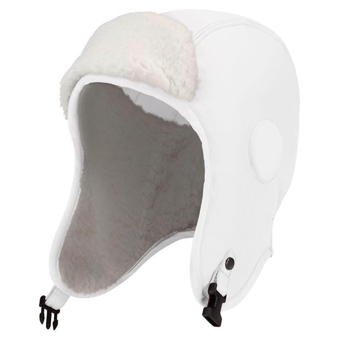 Шапка-ушанка 1080-BBGL детскаяУшанки<br><br><br>Мембрана 8000 мм. <br>Утеплитель – SPECTM SD. Имеет пористую структуру, высокую прочность и легкий вес, обладает свойствами пуха. Spec...<br><br>Цвет: Белый<br>Размер: 49-51