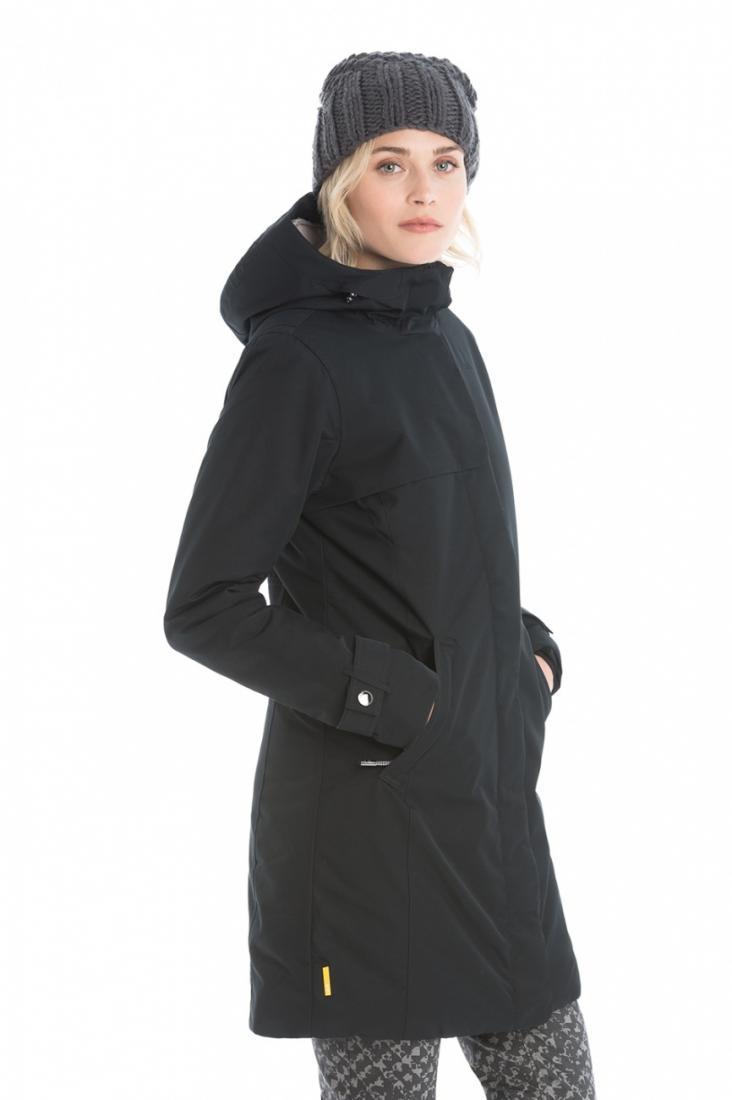 Куртка LUW0304 CLOWDY JACKETКуртки<br><br> Утепленное элегантное пальто Сlowdy подарит Вам наслаждение и комфорт в холодные демисезонные дни ранней весной или поздней осенью. Моде...<br><br>Цвет: Черный<br>Размер: XL
