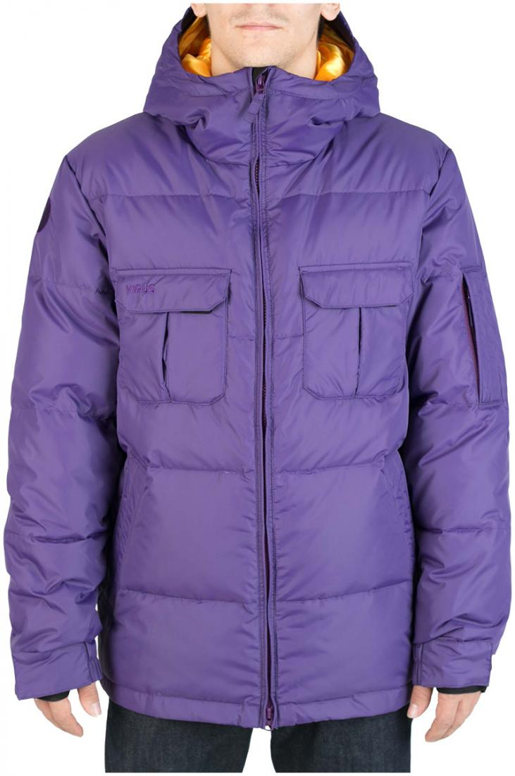 Куртка пуховая FroSTКуртки<br><br><br>Цвет: Фиолетовый<br>Размер: 44