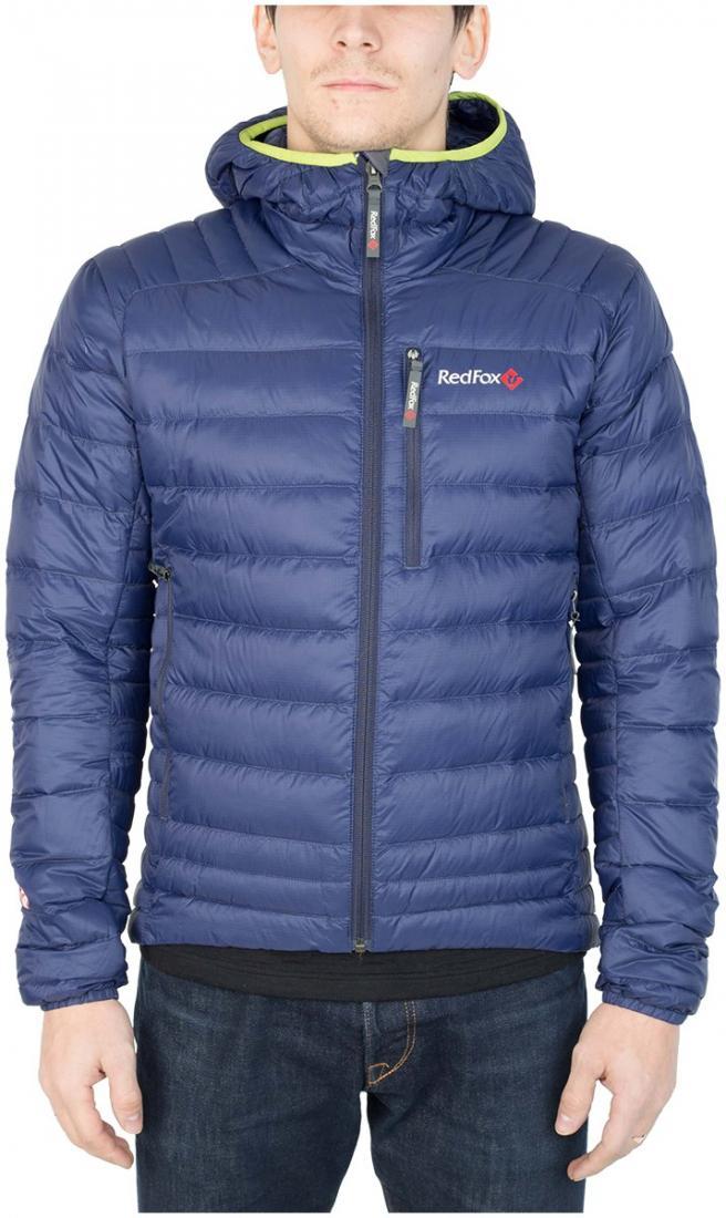 Куртка утепленная Quasar МужскаяКуртки<br><br> Сверхлегкая и компактная куртка, выполнена сприменением композитного утеплителя PrimaLoft® DownBlend Silver, в равной степени рассчитана на исп...<br><br>Цвет: Синий<br>Размер: 48