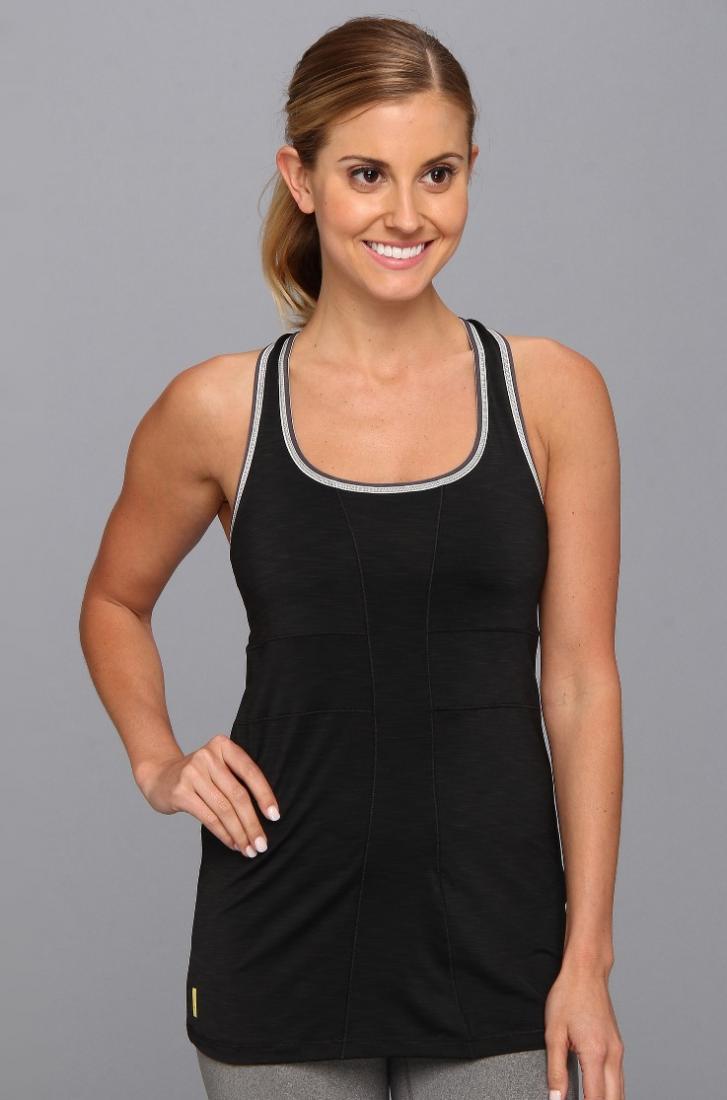 Топ LSW0900 LOVE TOPФутболки, поло<br><br> Love Top LSW0900 – стильная женская футболка от Lole открытого фасона, в которой так удобно заниматься спортом и совершать прогулки по городу в жаркую погоду. Контрастные швы, плетение на спинке и слегка расклешенный крой придают изделию оригинальн...<br><br>Цвет: Черный<br>Размер: XS