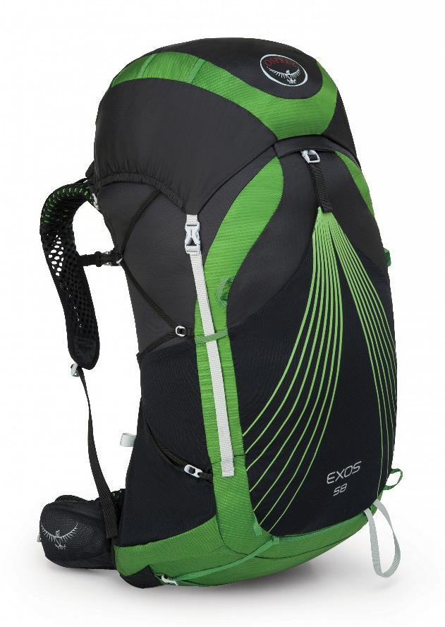Рюкзак Exos 58 ЧерныйРюкзаки<br><br> Какие цели вы преследуете, покупая легкий рюкзак? Комфорт? Удобство при переноске? Функциональные особенности? С Exos 38 вы можете не думать об этом! Рюкзаки серии Exos отличаются малым весом, не уступая при этом по функциональности и обеспечивая легкое и быстрое передвижение. Инновационные поясной ремень и лямки ExoForm™ с двойной конструкцией из сетки обеспечивают удобную и устойчивую посадку. Вентилируемая конструкция спины AirSpeed™ позволяет сбалансировать центр тяжести и создать максимальный комфорт в жарких условиях. Карманы из сетки на лямках удобно использовать для вещей, которые должны быть всегда под рукой, например, энергетического геля. В двух карманах на молнии на поясном ремне можно разместить остальное снаряжение. Традиционная система плавающего клапана может быть объемной и громоздкой, но для рюкзаков серии Exos мы создали лаконичную систему с лестничной структурой, позволяющую увеличивать или уменьшать объем клапана. Но если же вы хотите сократить объем рюкзака до минимума, отстегните верхний клапан и воспользуйтесь накидкой FlapJacket™, которая дополнительно защищает верхнее содержимое рюкзака в непогоду. С помощью многоточечной регулируемой системы боковой стяжки можно контролировать компактность рюкзака. Каждая деталь разработана с особой тщательностью, чтобы облегчить вес рюкзака и при этом сделать его максимально технологичным. В итоге все функциональные особенности составляют чуть более 1 кг от общего веса рюкзака. Должно быть, это волшебство...<br><br><br>Максимальный размер: (см) 76 (длина) x 35 (ширина) x 35 (глубина)<br><br>Вес: 1.20 (M) кг<br><br>Вентилируемая конструкция спины AirSpeed™ из натянутой сетки с боковой вентиляцией<br><br>Поясной ремень и лямки ExoForm™ с двойной конструкцией из сетки<br><br>Грудная стяжка со свистком<br><br>Верхний клапан<br><br>Накидка FlapJacket™ для использования без верхнего клапана<br><br>2 кармана на молнии на поясном ремне<br><br>Сверхлегкие 7мм ремешки для боково