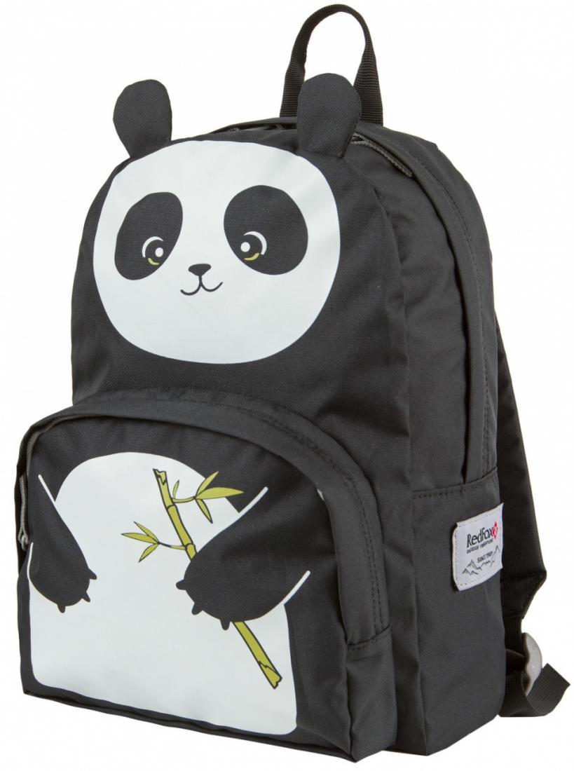 Рюкзак Panda ДетскийРюкзаки<br>Яркий рюкзак оригинального дизайна. В модели предусмотрен наружный карман. Анатомическая мягкая спинка, удобные лямки и дно рюкзака обеспечивают комфорт.<br><br>материал: P450D<br>объем, л: 10<br><br><br>Цвет: Черный<br>Размер: None