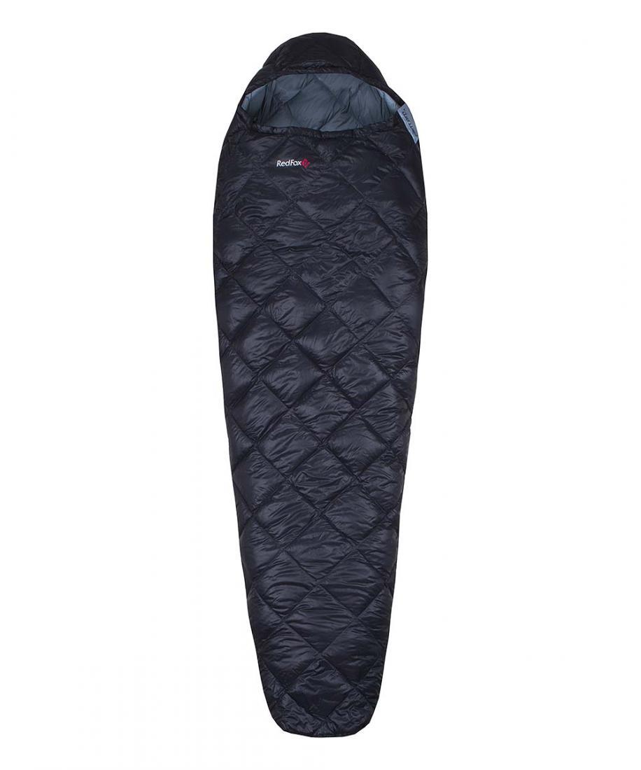 Спальный мешок пуховый Fantom F1 leftСпальные мешки<br><br><br>Цвет: Черный<br>Размер: Regular