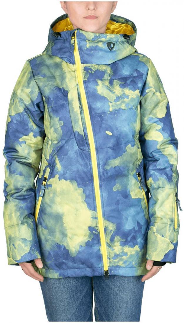 Куртка пуховая Pitch WКуртки<br><br><br>Цвет: Синий<br>Размер: 42