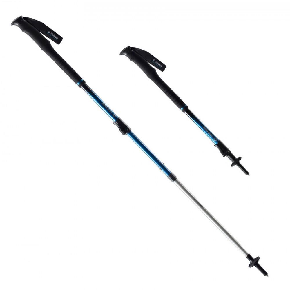 Палки Helinox  трекинговые LB 135Треккинговые палки<br>Треккинговые палки серии RIDGELINE совмещают в себе такие параметры, как легкий вес и прочность, необходимые для лыжных или горных, однодневных или недельных походов. Палки DL 135 имеют два уровня регулирования высоты. Продуманная конструкция позволяет...<br><br>Цвет: Синий<br>Размер: 225 г