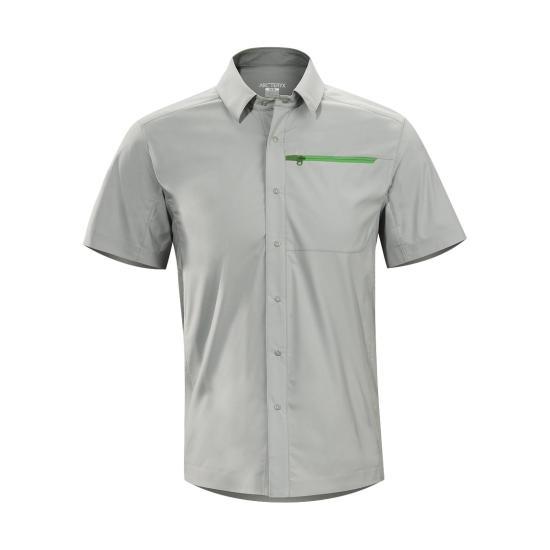 Рубашка Skyline SS муж.Рубашки<br><br> ДИЗАЙН: Рубашка с короткими рукавами из удобной тянущейся ткани.<br><br><br> НАЗНАЧЕНИЕ: Путешествия, каждодневная носка.<br><br><br> ПОКРОЙ: За...<br><br>Цвет: Серый<br>Размер: S
