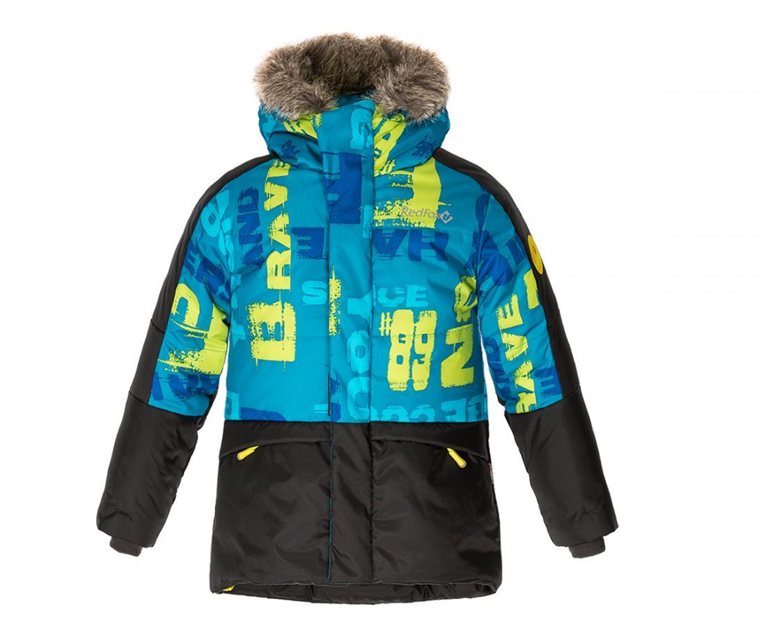 Куртка пуховая Extract II ДетскаяКуртки<br>В экстремально теплом пуховике ваш ребенок гарантированно будет чувствовать себя комфортно в самую морозную погоду. Дополнительный слой функционального утеплителя Omniterm® создает высокие теплоизолирующие свойства. Удобная регулировка по талии и низу кур...<br><br>Цвет: Синий<br>Размер: 152