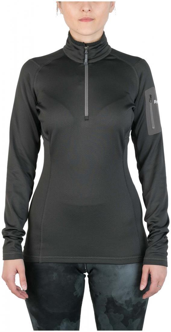 Пуловер Z-Dry ЖенскийПуловеры<br>Спортивный пуловер, выполненный из эластичного материала с высокими влагоотводящими характеристиками. Идеален в качестве зимнего термобелья или среднего утепляющего слоя.<br> <br> <br><br>Материал: 94% Polyester, 6% Spandex, 290g/sqm.<br> &lt;...<br><br>Цвет: Темно-серый<br>Размер: 42