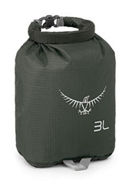 Фото - Гермомешок Ultralight DrySack от Osprey Гермомешок Ultralight DrySack (, Shadow Grey, , 30 л)