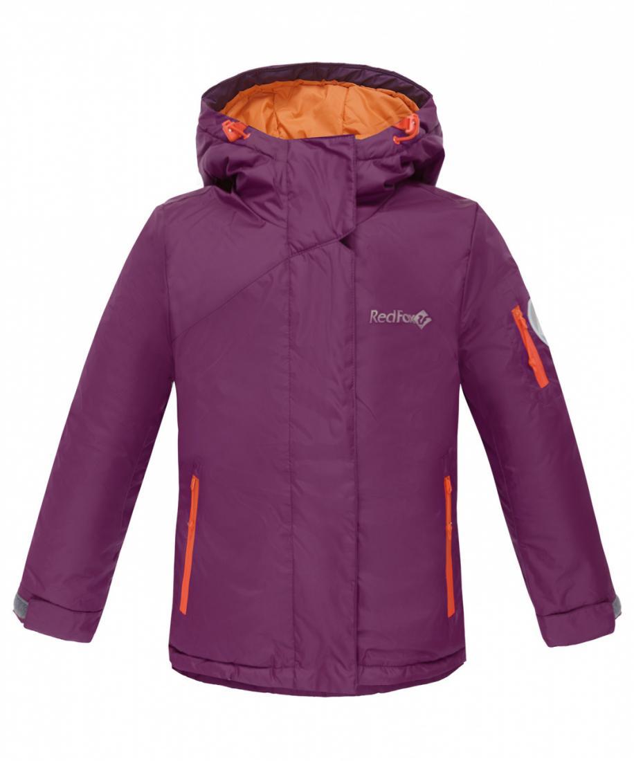 Куртка утепленная Snowy Fox II ДетскаяКуртки<br>Практичная и стильная куртка для девочек сприталенным силуэтом, которая не позволитзамерзнуть и промокнуть в холодную погоду. Капюшонс козырьком и регулировками по объёму и глубине,два боковых кармана на молнии, внутренний карман икарман на рукаве...<br><br>Цвет: Светло-фиолетовый<br>Размер: 128