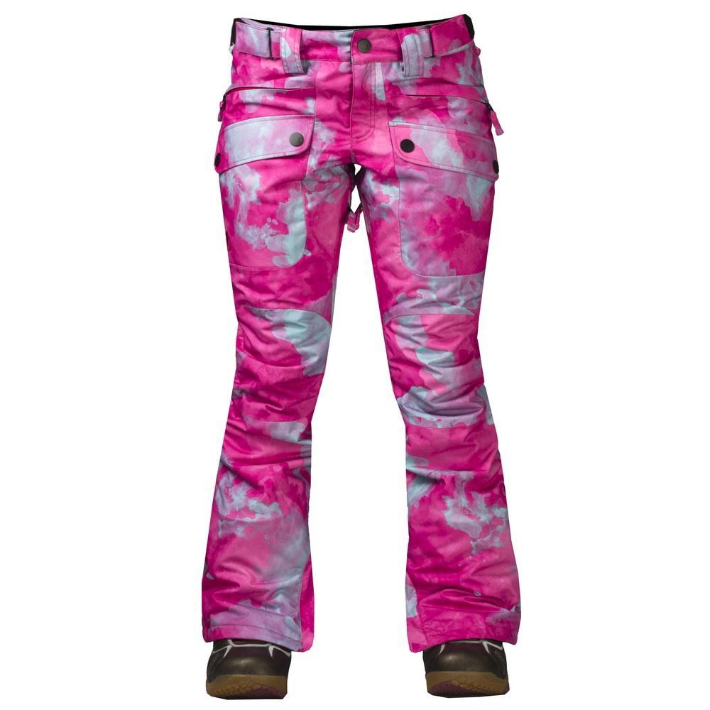 Штаны сноубордические утепленные Tune WБрюки, штаны<br>Утепленные штаны для стильных девушек. Модель Tune W обладает свободной посадкой на бёдрах и зауженными штанинами. Накладные карманы спере...<br><br>Цвет: Алый<br>Размер: 50