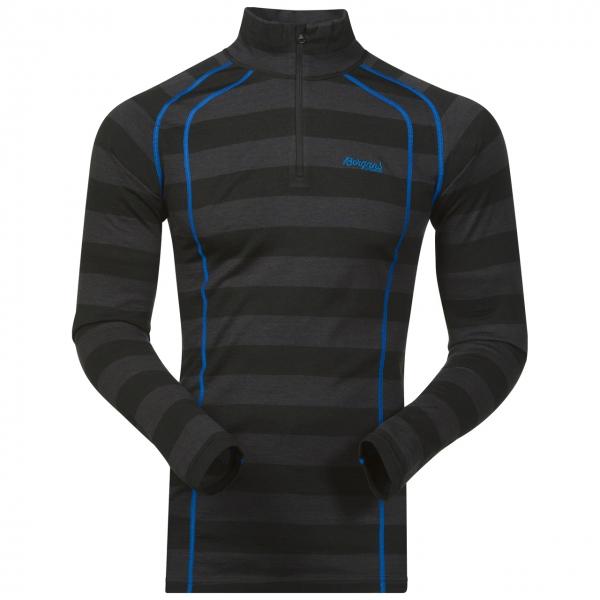 *Пуловер Fjellrapp Half ZipПуловеры<br><br>Мужской пуловер Bergans Fjellrapp Half Zip из натуральной высококачественной шерсти мериноса идеально подходит для холодного времени года. Мериносовая шерсть обладает высокой воздухопроницаемостью, а также прекрасными влагоотводящими и терморегулиру...