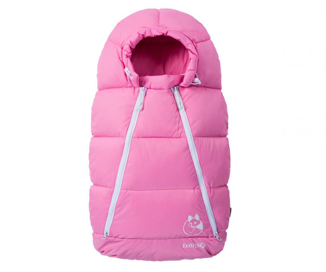 Конверт пуховый Sleepy Fox ДетскийКонверты<br>Универсальный теплый зимний конверт, напоминающий по своей форме кокон. Пух высокого качества превосходно сохраняет тепло и защищает вашего малыша от перегрева или переохлаждения во время длительных прогулок. Специальные прорези для ремней безопасности де...<br><br>Цвет: Розовый<br>Размер: M(6-12м)