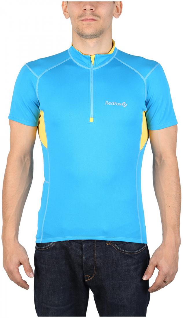 Футболка Trail T SS МужскаяФутболки, поло<br><br> Легкая и функциональная футболка с коротким рукавом из материала с высокими влагоотводящими показателями. Может использоваться в качестве базового слоя в холодную погоду или верхнего слоя во время активных занятий спортом.<br><br><br>основно...<br><br>Цвет: Голубой<br>Размер: 56