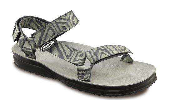 Сандалии HIKEСандалии<br>Легкие и прочные сандалии для различных видов outdoor активности<br><br>Верх: тройная конструкция из текстильной стропы с боковыми стяжками и застежками Velcro для прочной фиксации на ноге и быстрой регулировки.<br>Стелька: кожа.<br>&lt;...<br><br>Цвет: Хаки<br>Размер: 36