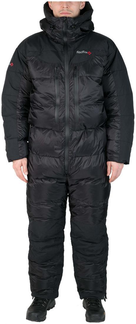 Комбинезон пуховый ExtremeКомбинезоны<br><br> Экспедиционный пуховый комбинезон выполнен из сверхлегкого и прочного материала с применением гусиного пуха высокого качества (F.P 800+).<br><br><br>основное назначение: высотный альпинизм, зимний альпинизм <br>регулируемый в двух пл...<br><br>Цвет: Черный<br>Размер: 56
