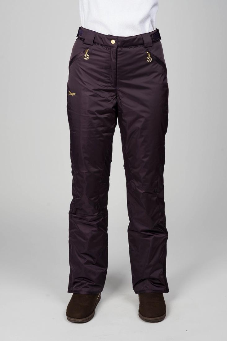 Брюки утепленные 225219Брюки, штаны<br><br><br>Цвет: Фиолетовый<br>Размер: 48