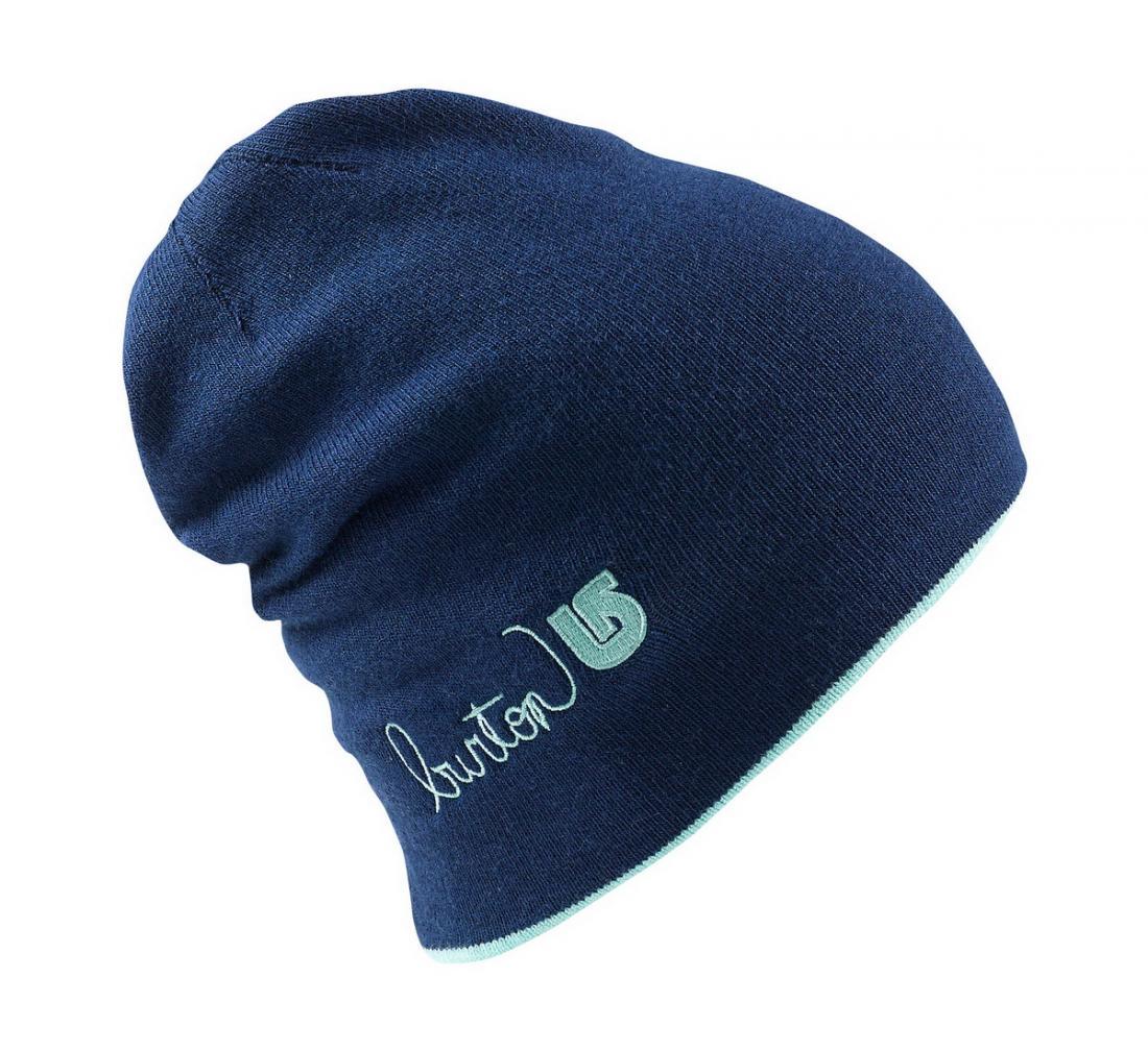 Шапка WMS BELLE BNIEШапки<br>Женская шапка WMS BELLE BNIE от американской компании Burton– качественная модель для зимних видов спорта, которая хорошо удерживает тепло, но выпу...<br><br>Цвет: Синий<br>Размер: None