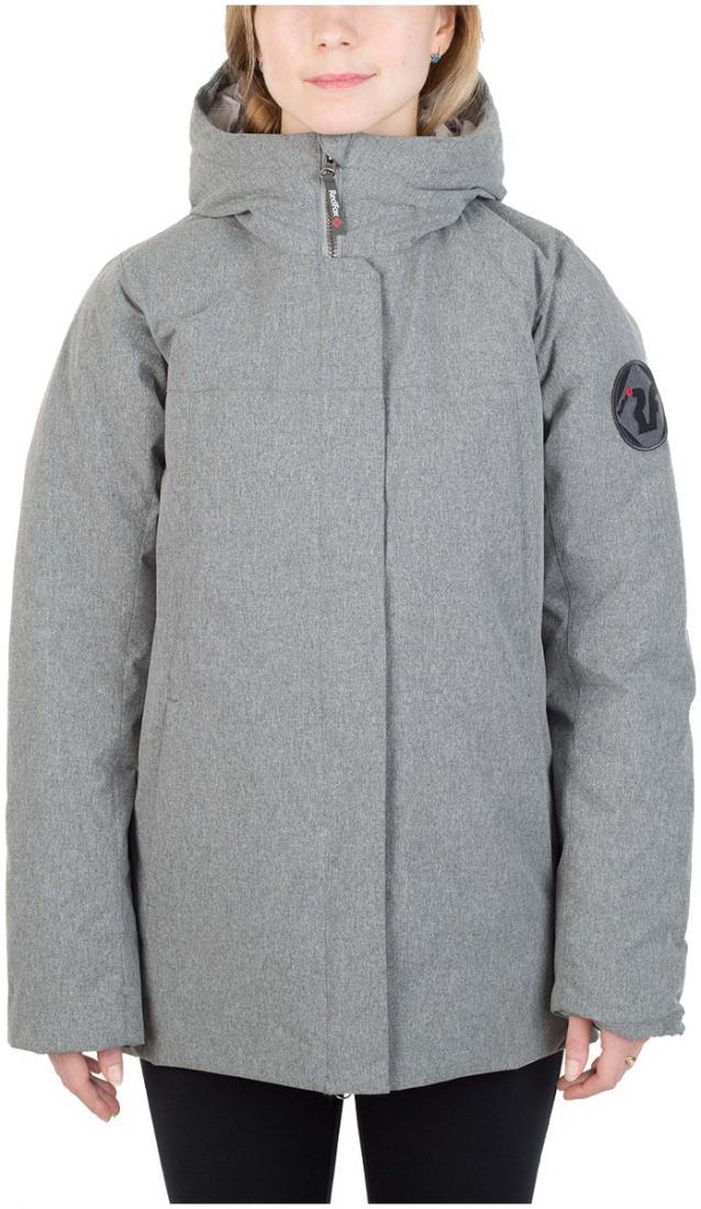 Полупальто пуховое Urban Fox ЖенскоеПальто<br><br> Пуховая куртка минималистичного дизайна из прочного материала c «m?lange» эффектом, обладает всеми необходимыми качествами, чтобы полнос...<br><br>Цвет: Серый<br>Размер: 44