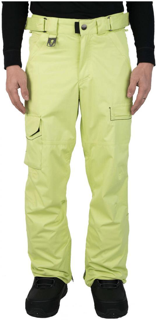Штаны сноуб.STБрюки, штаны<br>Легкие сноубордические штаны ST<br><br>Регулировка объема в поясе<br>Внутренний манжет внизу с резинкой и крючком для шнурков<br>Вентиляция<br>Проклеенные швы <br><br><br>Цвет: Салатовый<br>Размер: 46