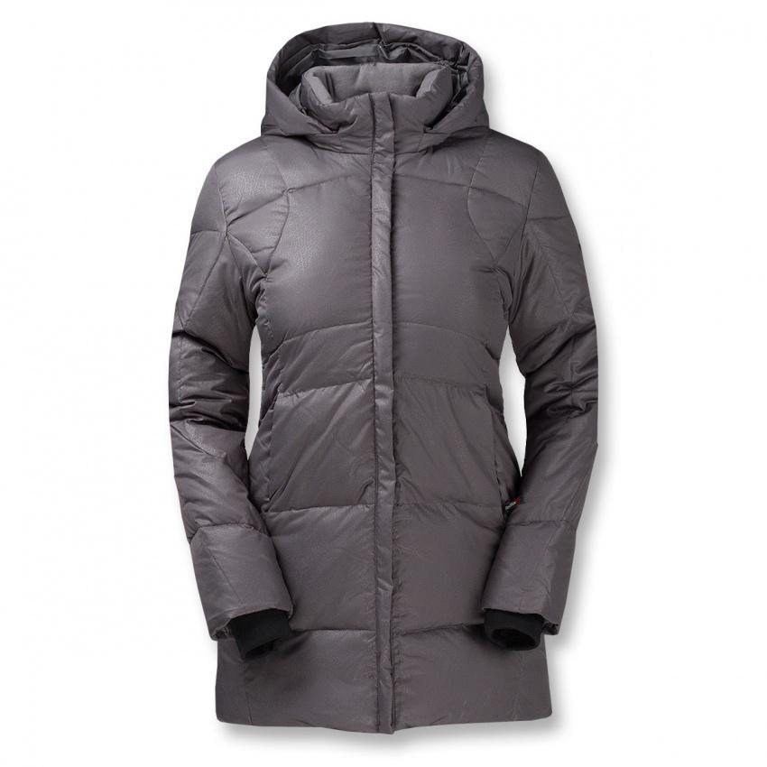 Куртка пуховая Palanga IIКуртки<br>Пуховое полупальто. <br><br> <br><br><br>Серия Life Style/ пуховая одежда<br>Материал: 100% Polyester, DWR<br>Утепление: гусиный пух (F.P.550+)<br>&lt;l...<br><br>Цвет: Серый<br>Размер: 42