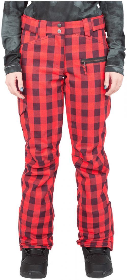 Штаны сноубордические утепленные Norm женскиеБрюки, штаны<br>Женская модель штанов Norm W оснащена зональным утеплением. Она обладают всеми основными характеристиками классических сноубордических ш...<br><br>Цвет: Темно-красный<br>Размер: 42