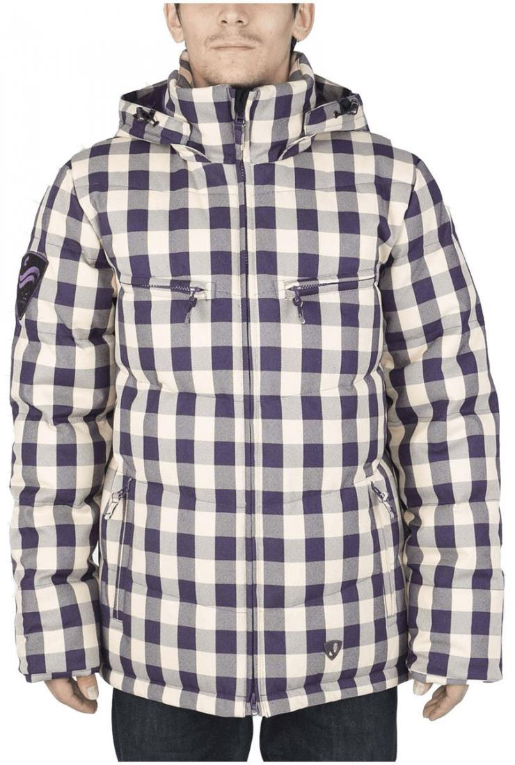 Куртка пуховая PythonКуртки<br><br> Отличительная черта этой куртки – минимализм. Ничего лишнего и нефункционального в ней нет. Но есть комфортная посадка Mid-fit, широкий во...<br><br>Цвет: Синий<br>Размер: 56