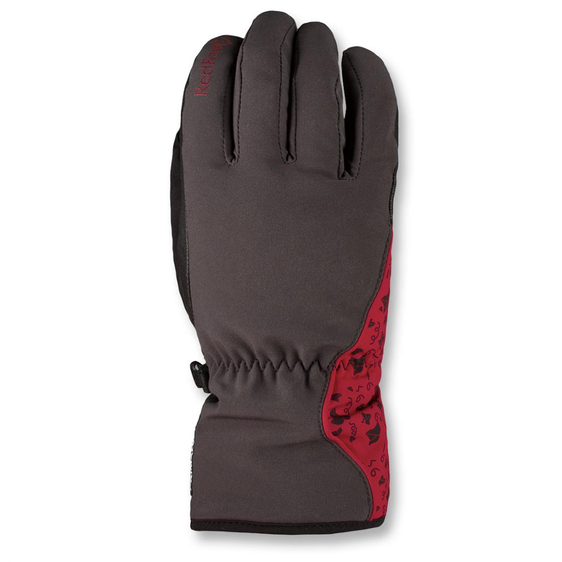 Перчатки женские RozaryПерчатки<br><br><br>Цвет: Красный<br>Размер: L