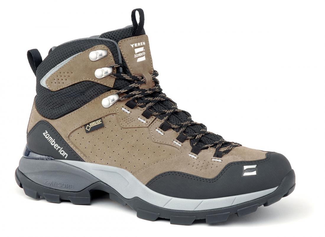 Кроссовки 252 YEREN GTX RRТреккинговые<br>Удобная колодка этих треккинговых ботинок отлично подходит для быстрой ходьбы. Верх из замши с обработкой Hydrobloc®для лучшей водонепроницаемости. Защитное резиновое укрепление на носке и пятке. TPU стабилизатор в области пятки. Вставка EVA высокой пл...<br><br>Цвет: Бежевый<br>Размер: 42