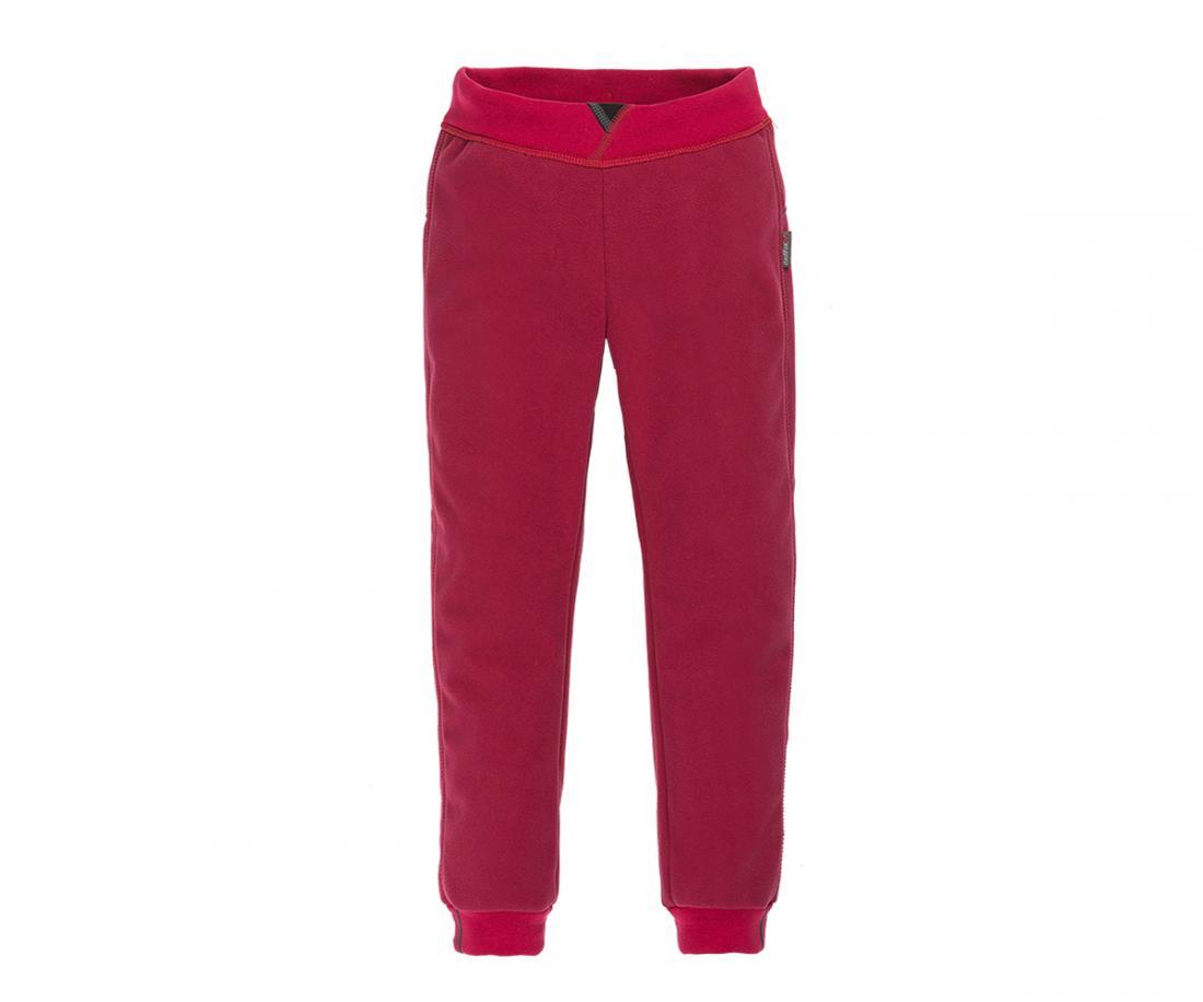 Брюки Furry WB II ДетскиеБрюки, штаны<br>Ветрозащитные теплые брюки свободного кроя изматериала Polartec® Windbloc®. Имеют комфортныйэластичный пояс и эластичные манжеты по низушта...<br><br>Цвет: Малиновый<br>Размер: 116