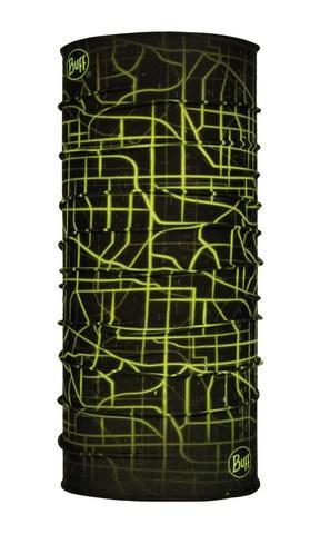Бандана BUFF REFLECTIVEБанданы<br><br> Многофункциональная легкая бандана BUFF REFLECTIVE из микрофибры идеально подойдет для занятий спортом в прохладную погоду. Бандана имеет светоотражающие полосы для легкого распознавания человека в темное время суток на расстоянии до 150 м, благода...