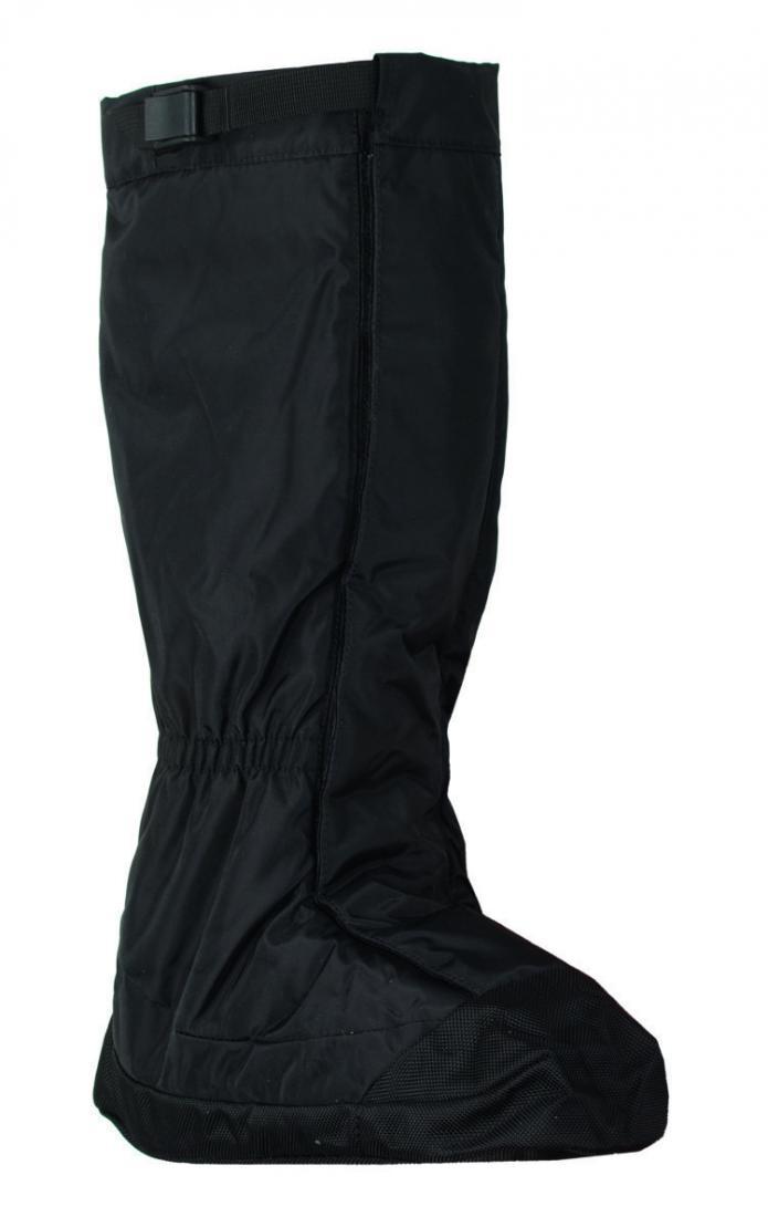БахилыАксессуары<br><br> Легкие бахилы для защиты верхней части ботинка отдождя, грязи, мокрого снега.<br><br><br> Основные характеристики<br><br><br><br><br>ремешок ...<br><br>Цвет: Черный<br>Размер: None
