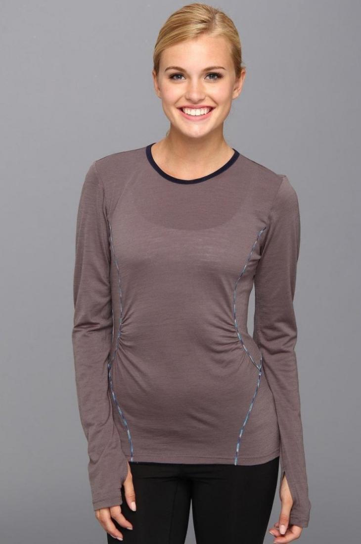 Топ LSW0752 PONDER 2 TOPФутболки, поло<br><br> Топ Ponder 2 Top LSW0752 – практичная футболка для девушек, которую можно использовать в качестве обычного лонгслива и нательного термобелья. Г...<br><br>Цвет: Темно-серый<br>Размер: S