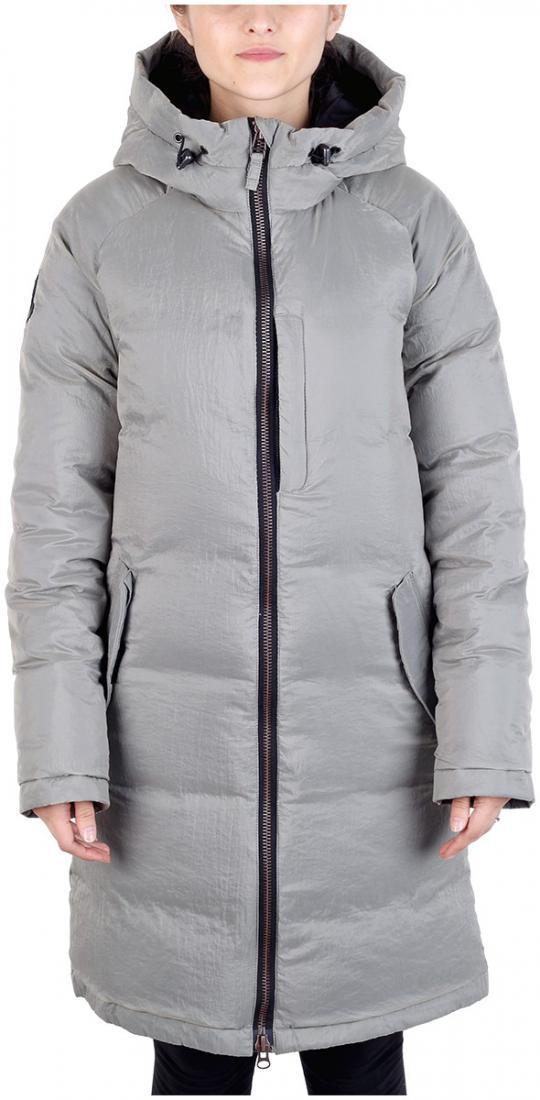 Куртка пуховая Caddy женскаяКуртки<br><br><br>Цвет: Серый<br>Размер: 48