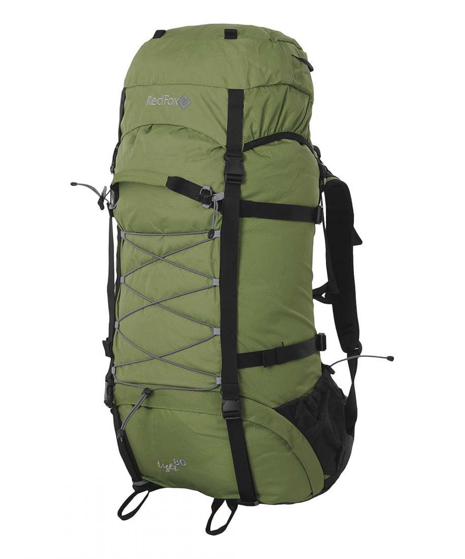 Рюкзак Light 80Рюкзаки<br>Туристический рюкзак Red Fox Light 80 имеет небольшой вес, отлично подойдёт для походов! В рюкзаке подвесная система IBC, которая отлично фиксирует...<br><br>Цвет: Зеленый<br>Размер: 80 л