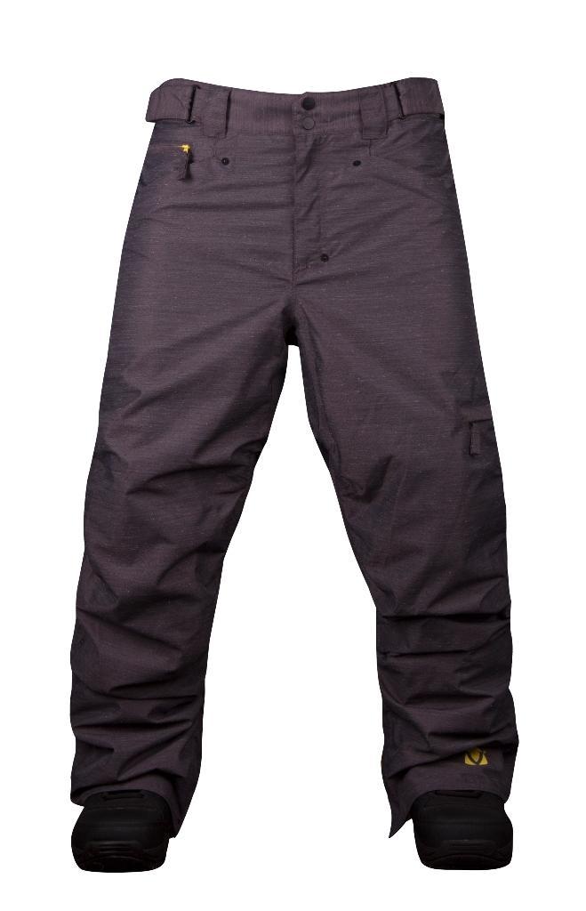 Штаны сноубордические MobsterБрюки, штаны<br><br> Сноубордические штаны свободного кроя Mobster сконструированы специально для катания вне трасс. Этому также способствуют карманы, препят...<br><br>Цвет: Черный<br>Размер: 44