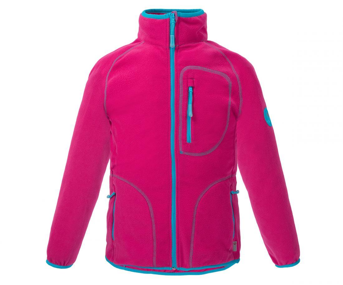 Куртка Hunny ДетскаяКуртки<br>Классическая куртка из флиса. Теплый уютный флис согреет вашего ребенка в прохладную погоду и станет превосходным дополнительным утеплением в морозное время года.<br> <br><br>Материал – Polar Fleece.<br>Защита для подбородка.<br>&lt;li...<br><br>Цвет: Розовый<br>Размер: 140