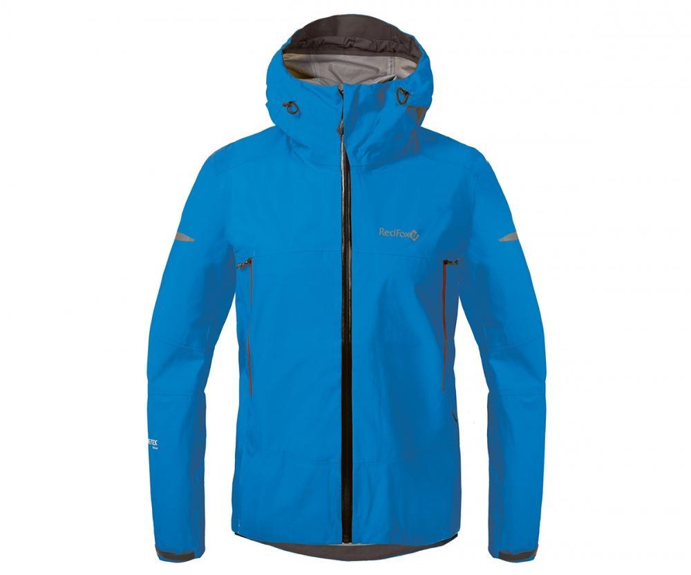 Куртка ветрозащитная SkyКуртки<br><br>Новейшая разработка в серии штормовых курток Red Fox, изготовлена из инновационного материала GORE-TEX® Active Products: самый низкий вес при высокой прочности и самые высокие показатели паропроницаемости при максимальной защите от дождя и ветра.<br>&lt;/...<br><br>Цвет: Голубой<br>Размер: 44