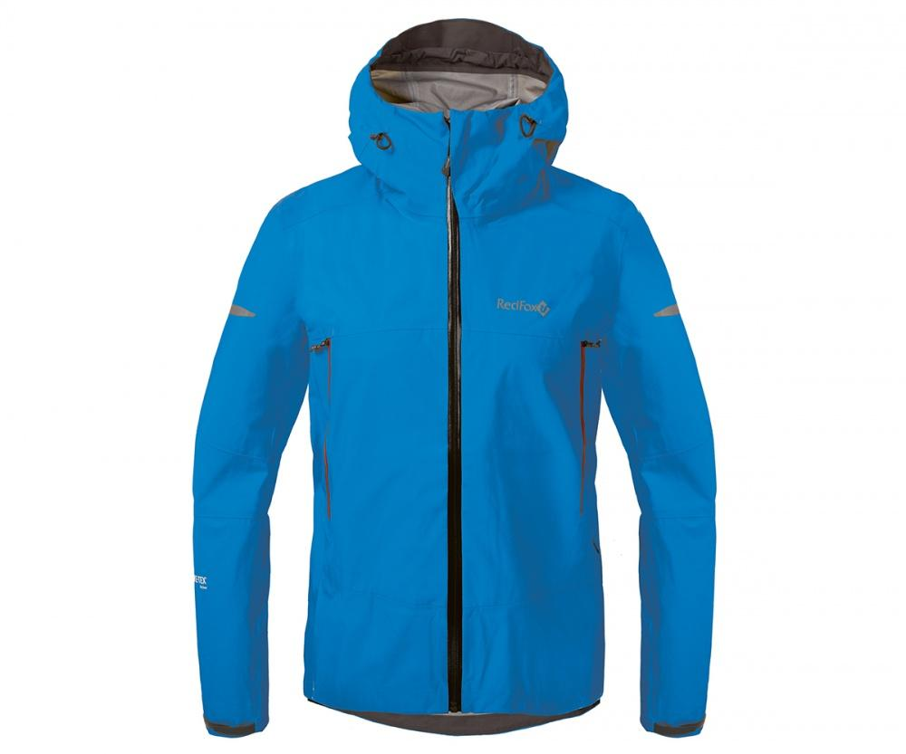 Куртка ветрозащитная SkyКуртки<br><br>Новейшая разработка в серии штормовых курток Red Fox, изготовлена из инновационного материала GORE-TEX® Active Products: самый низкий вес при высокой прочности и самые высокие показатели паропроницаемости при максимальной защите от дождя и ветра.<br>&lt;/...<br><br>Цвет: Голубой<br>Размер: 48