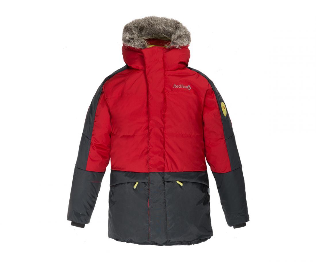 Куртка пуховая Extract II ДетскаяКуртки<br>В экстремально теплом пуховике ваш ребенок гарантированно будет чувствовать себя комфортно в самую морозную погоду. Дополнительный слой функционального утеплителя Omniterm® создает высокие теплоизолирующие свойства. Удобная регулировка по талии и низу кур...<br><br>Цвет: Красный<br>Размер: 128