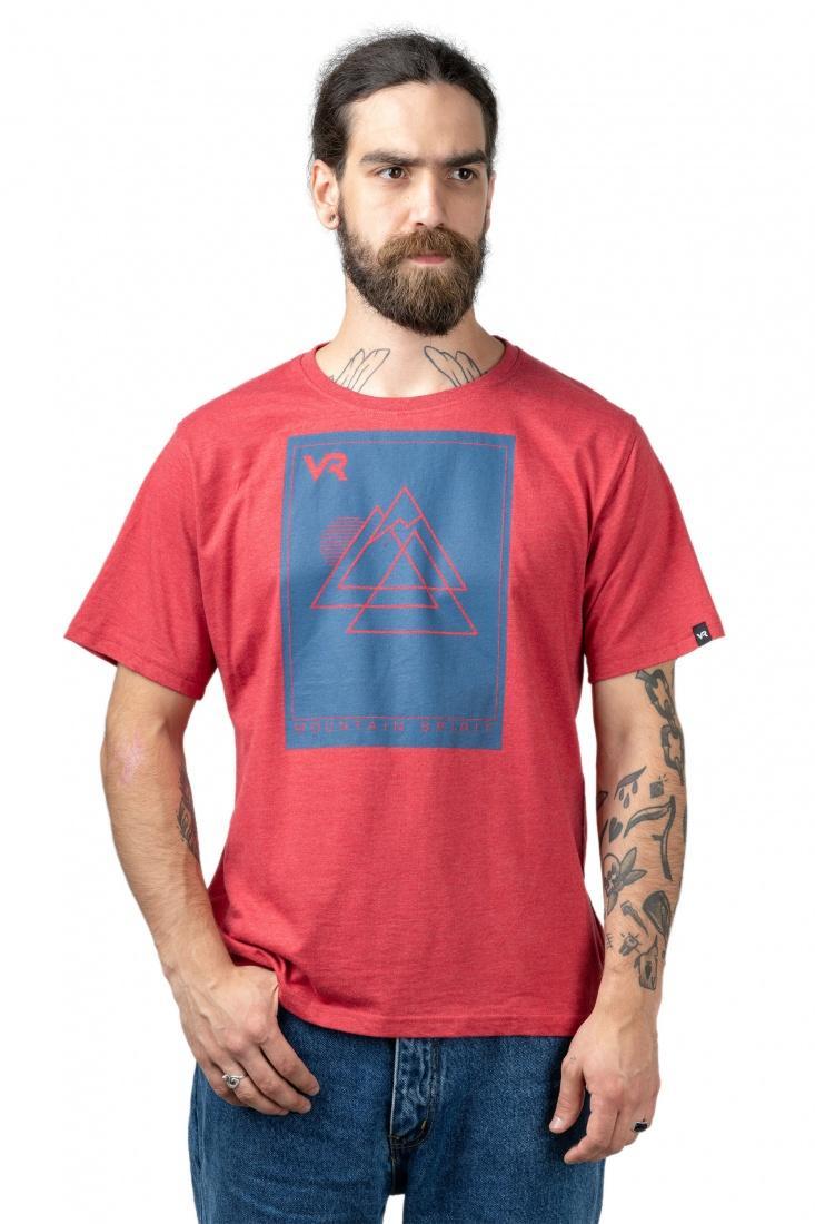 Футболка Mountain spirit МужскаяФутболки, поло<br>Характеристики футболки Mountain spirit <br><br>классический удобный стандартный крой<br>круглый вырез<br>принт спереди<br><br>Футболку Mountain spirit купить в интернет-магазине «Планета Спорт» можно с доставкой по Р...