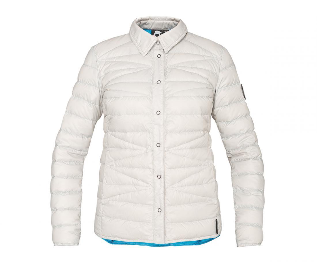 Рубашка пуховая Yuki ЖенскаяРубашки<br><br> Городская пуховая рубашка лаконичного дизайна соригинальной стежкой.<br> Эргономичная и легкая модель, можно использовать вкачестве теплой рубашки в холодное время года иликак дополнительный утепляющий слой для сохранениятепла.<br><br> Основ...<br><br>Цвет: Серый<br>Размер: 50