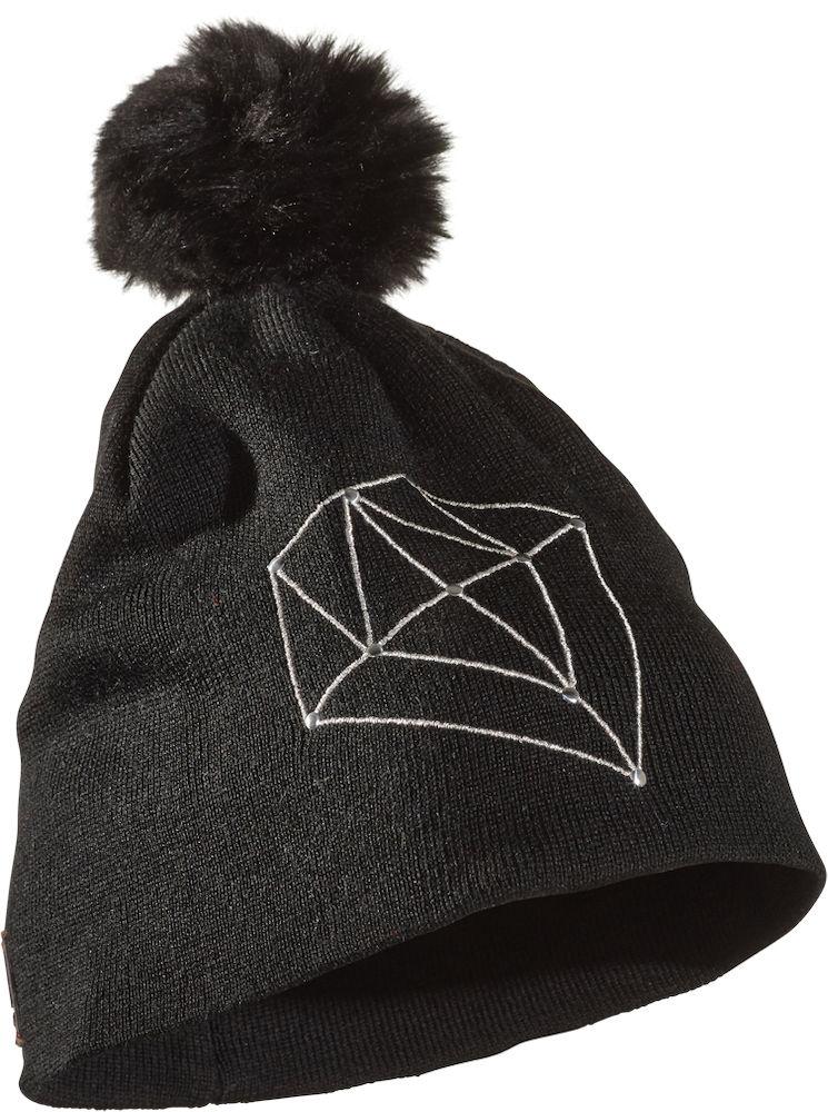 Шапка Diamond DD5Шапки<br>Состав: 50% Мериносовая шерсть, 50% акрил<br><br>Цвет: Серый<br>Размер: None