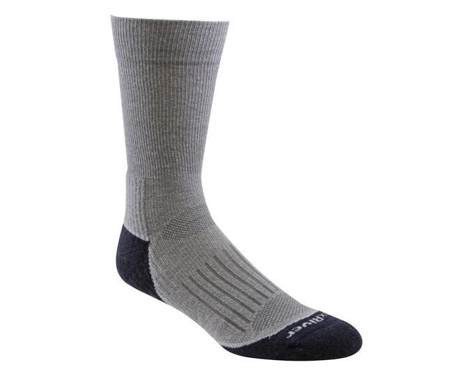 Носки турист.2456 TRAIL CREWНоски<br><br> Тонкие носки с идеальной посадкой. Благодаря уникальной системе переплетения волокон wick dry®, влага быстро испаряется с поверхности кожи, сохраняя ноги в комфорте.<br><br><br>Система URfit™<br>Специальные вентилируемые вставки эффе...<br><br>Цвет: Серый<br>Размер: XL